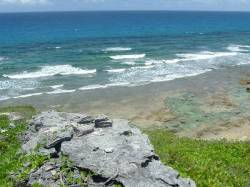 10 Acres Hilltop Ocean Front land - Mangrove Bush, Long Island, Bahamas